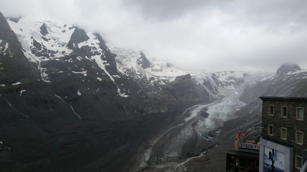 grossglockner ice berg ヨーロッパ 氷河 グロースグロックナー 海外ツーリング