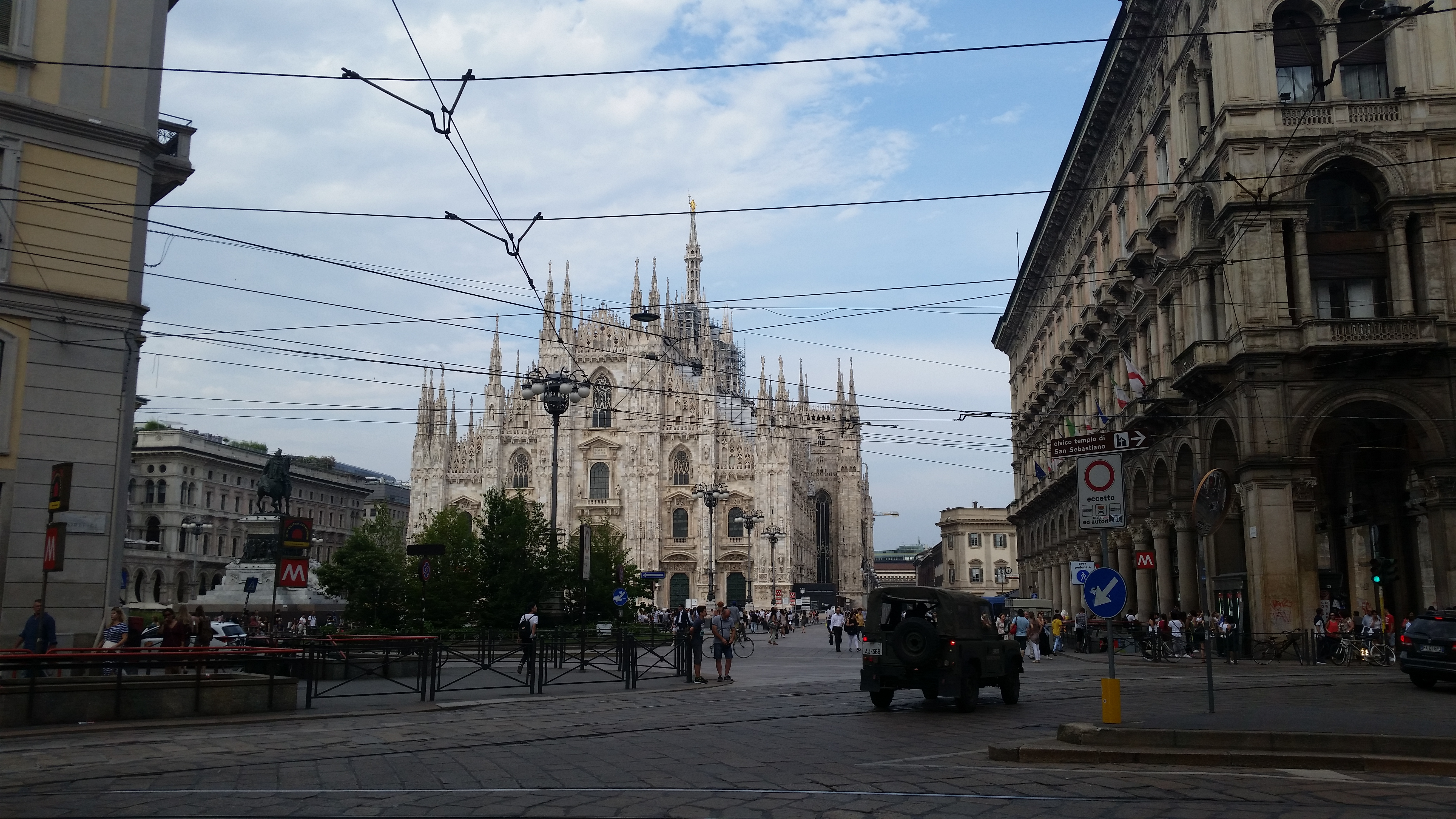 Milano:ミラノにてプリペイドSIM購入