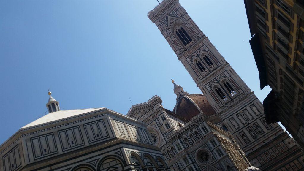 フィレンツェ 洗礼堂 ドゥオモ 鐘楼