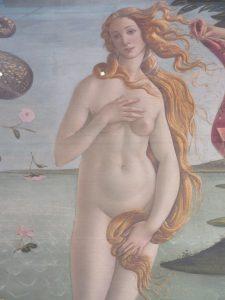 ヴィーナスの誕生 ボッティチェッリ