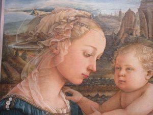 聖母子と天使 リッピ