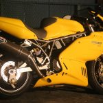 Ducati SS900:あえなく転倒