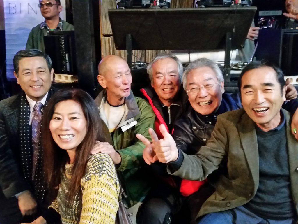 トシさん、毛利さん、荘さん、江崎さん