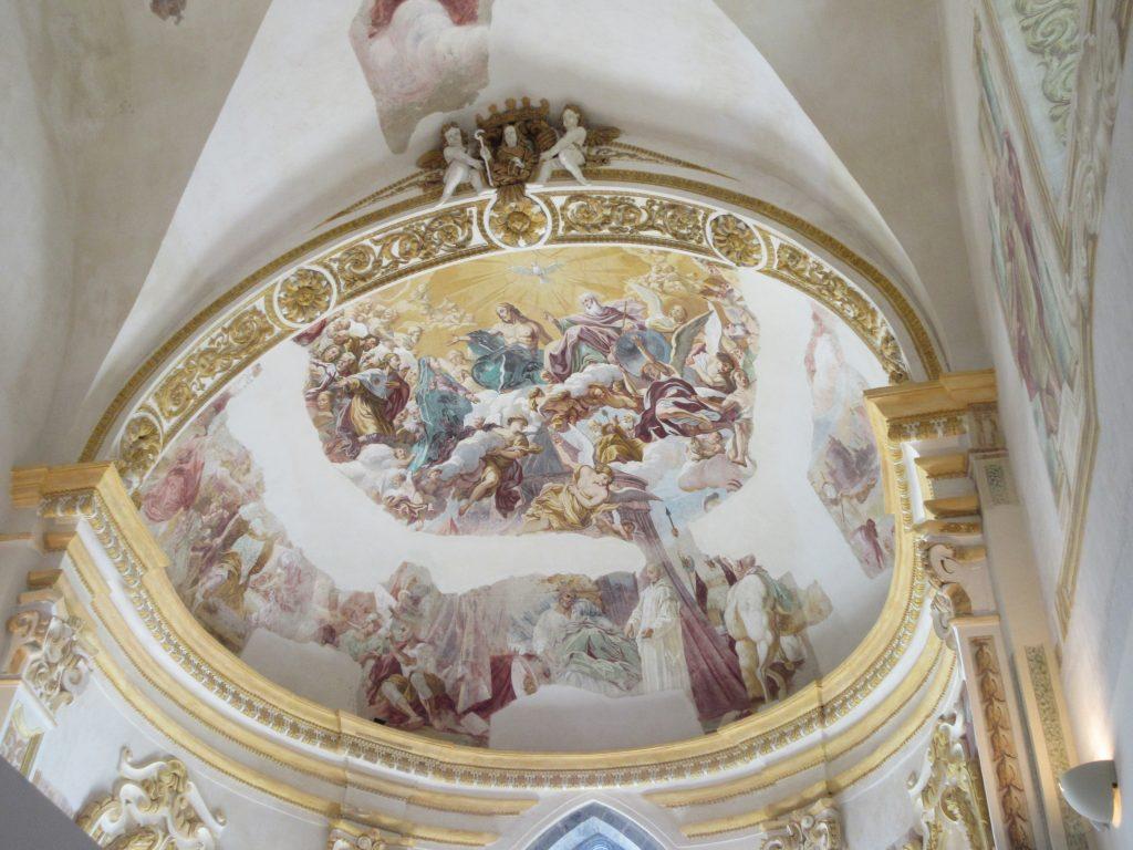 サン・ジャコモ修道院 内部 カプリ