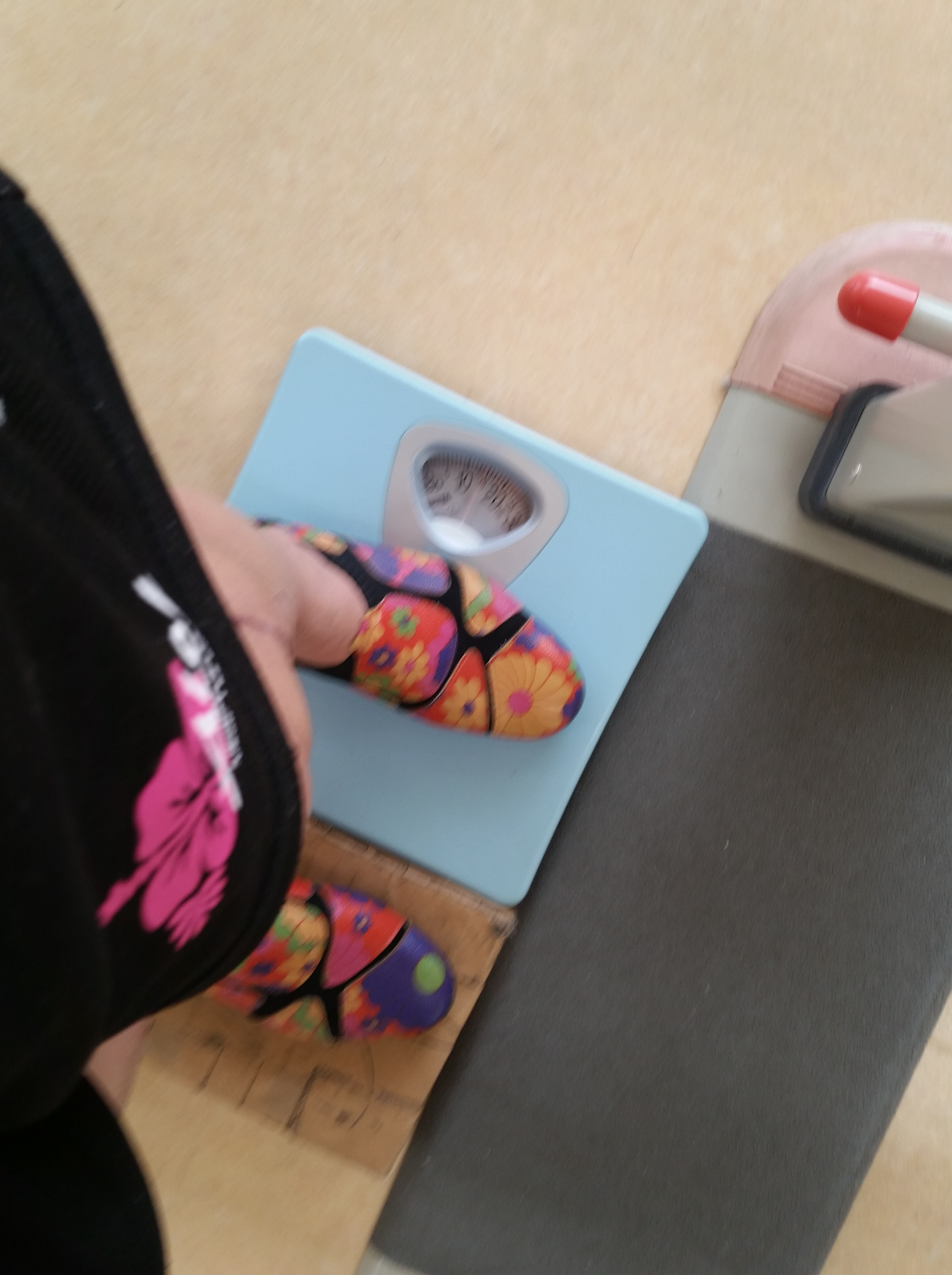骨折日記21:大きな一歩 体重の1/3から荷重開始!