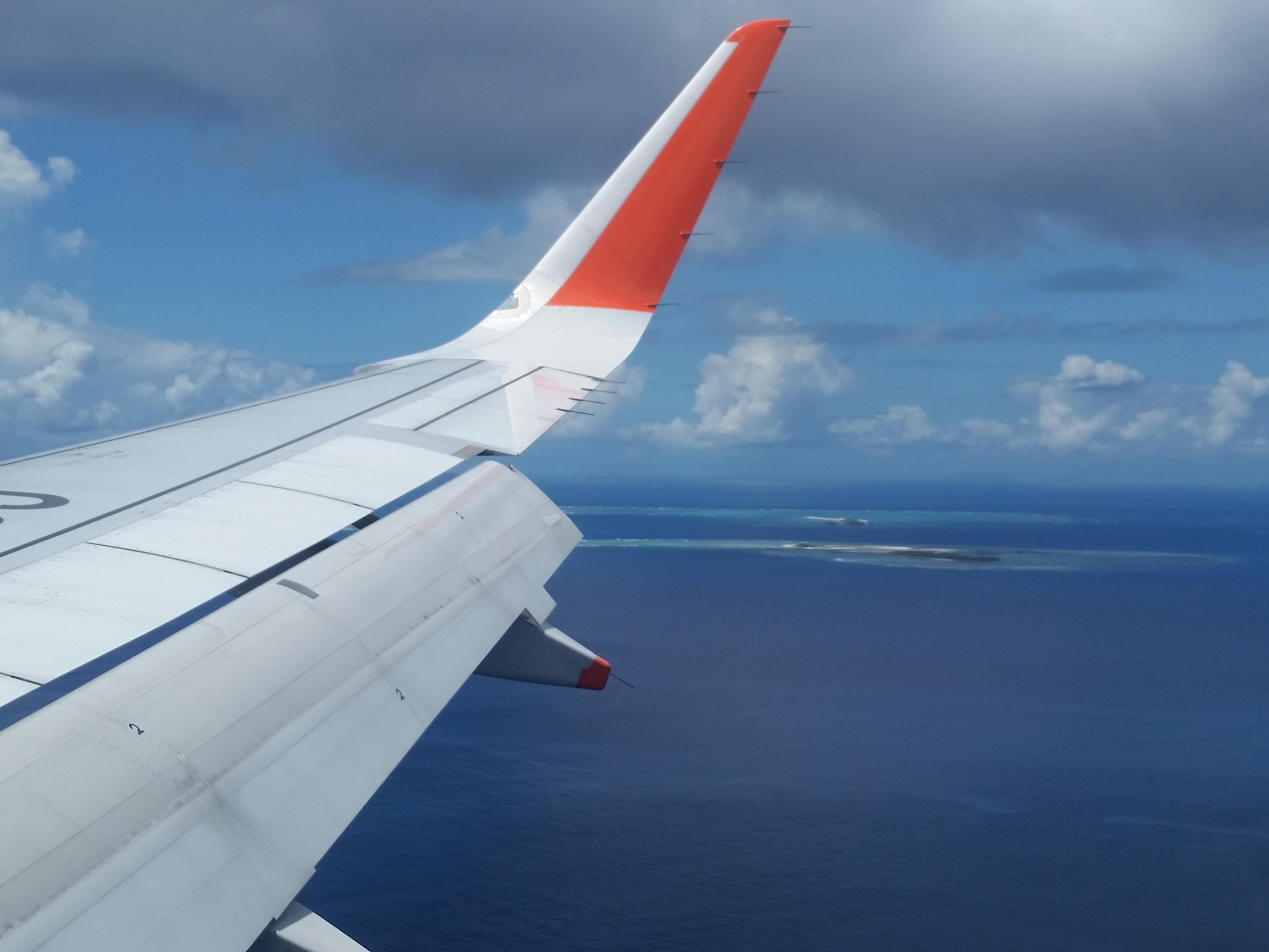 沖縄旅行2日目:骨折・欠航を経てやっと那覇に到着!