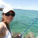沖縄旅行4日目:初沖縄ランガン Shore Fishing!