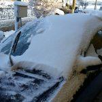 降雪への準備:タイヤ・スコップ・融雪剤!