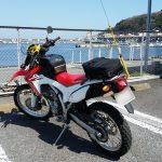 CRF:3月に入って今年初!?のバイク