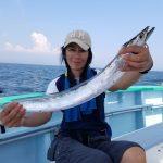 太刀魚:長浦こなや丸にてジギング乗り合い