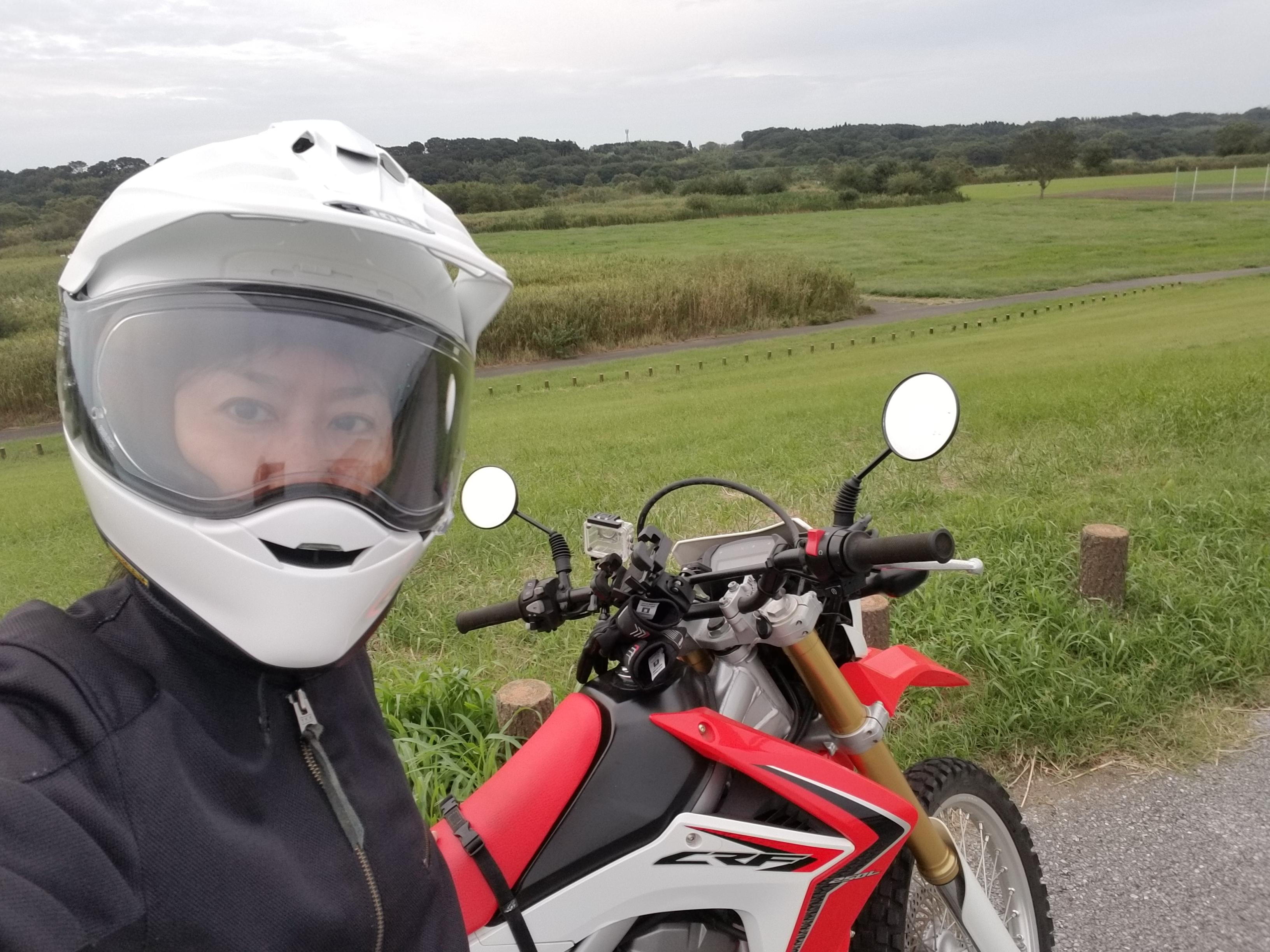 CRF:抜釘後3か月バイク復活はスタンドまで