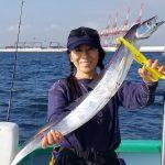 太刀魚:こなや丸で初メーターオーバー!