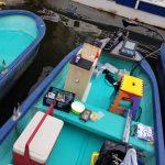 2019年釣り初め:高滝湖で単独ワカサギボート釣り!