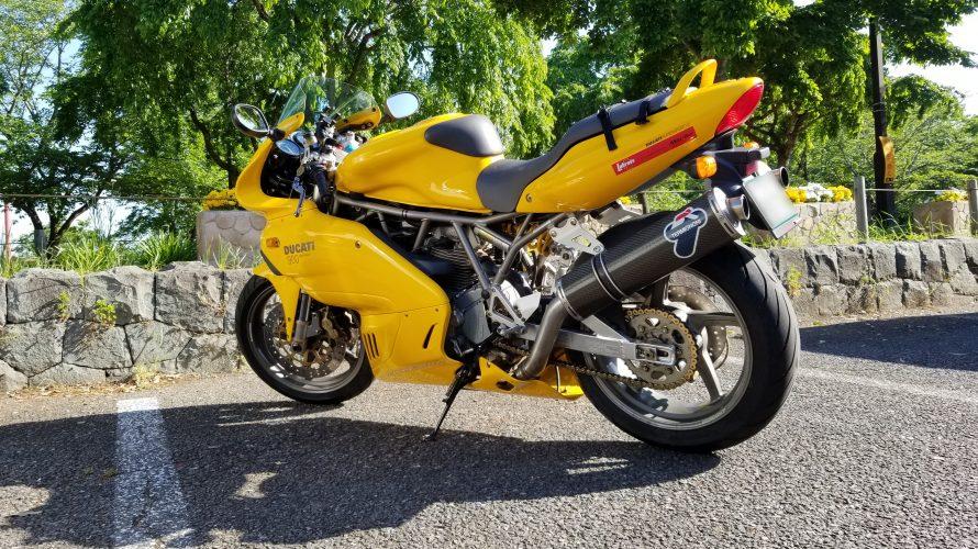 Ducati SS900 がトランポで帰宅したので早速走りに行きました!