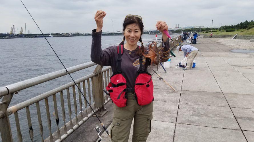 釣り 東京 湾 タコ 東京湾にタコが湧く、餌木で誘ってひっかけろ! 千葉県浦安市