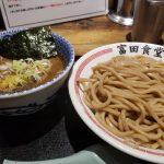 松戸富田食堂でつけ麺たべてタコエギ買いに行った!