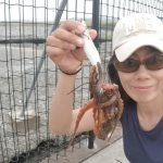 ソルパラタコロッド入魂 東扇島西公園でタコ釣りしました!