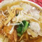 排骨麺シリーズ第3弾 万世麺店 ハーフ排骨&焼豚拉麺!