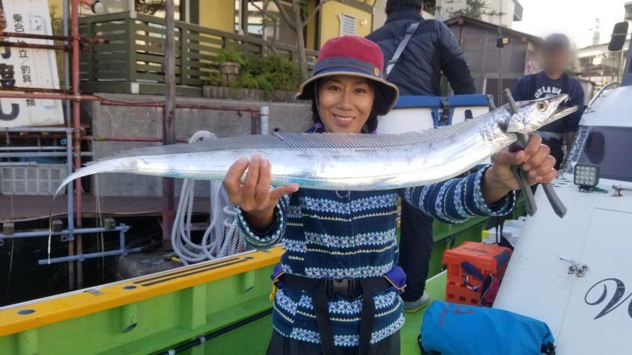 素敵な女性アングラーとの出会い 今週も渡辺釣船店でタチジギに行ってきました!