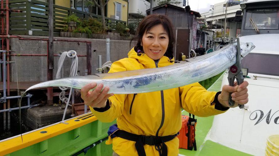 2019年11月 今月2度目の東京湾タチウオジギング@渡辺釣船店