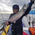 2020年初釣行!宮川丸でタチウオジギング 新春らしい魚も釣れました!