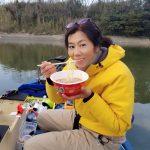 冬の高滝湖上で暖をとる!ポータブルガスストーブでワカサギ釣りを快適に!